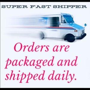 Orders will be wrapped carefully and shipped fast